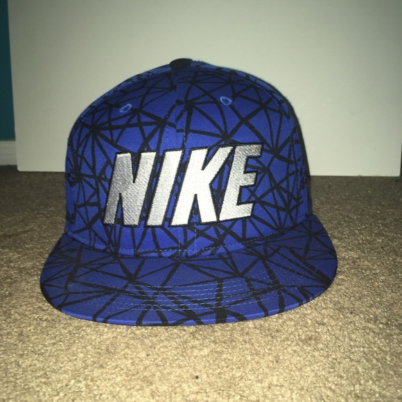 Blue Nike Flat Top Hat be35a015c97